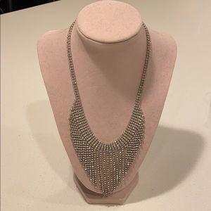 Jewelry - Rhinestone drop special occasion necklace, w/stand